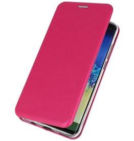 Slim Folio Hülle für Samsung Galaxy A50 Pink