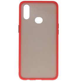 Color combination Hard Case for Samsung Galaxy A10s Red