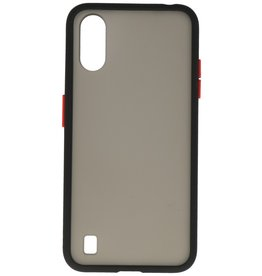 Color combination Hard Case for Samsung Galaxy A01 Black
