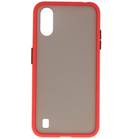 Color combination Hard Case for Samsung Galaxy A01 Red