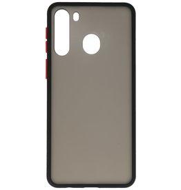 Color combination Hard Case for Samsung Galaxy A21 Black