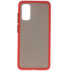 Color combination Hard Case for Galaxy S20 / 5G Red