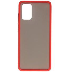 Kleurcombinatie Hard Case voor Galaxy S20 Plus / 5G Rood
