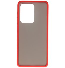 Color combination Hard Case for Galaxy S20 Ultra / 5G Red