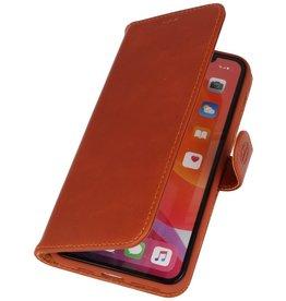 Rico Vitello Bruin Echt Leder Hoesje voor iPhone 11 Pro Max