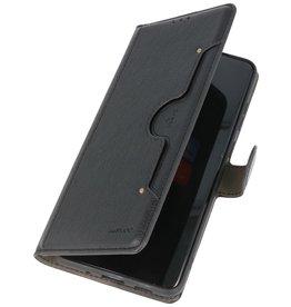 Luxus Brieftasche Hülle für Samsung Galaxy S20 Plus Schwarz
