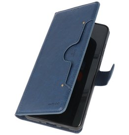 Luxe Portemonnee Hoesje voor Samsung Galaxy S20 Plus Navy