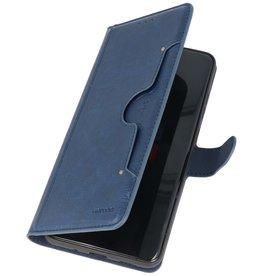 Luxe Portemonnee Hoesje voor Samsung Galaxy S20 Ultra Navy
