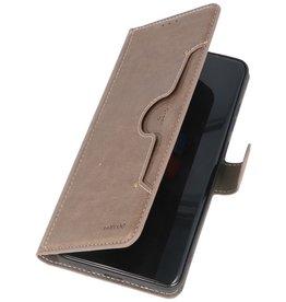 Luxus Brieftasche Hülle für Samsung Galaxy S20 Ultra Grey