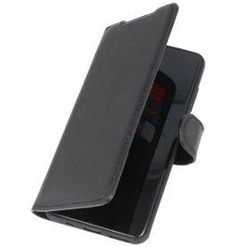 MF Handmade Leather Bookstyle Case Samsung Galaxy S20 Black