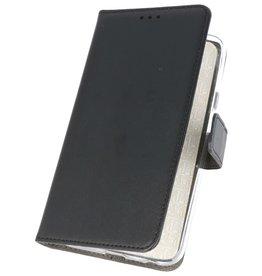 Wallet Cases Hoesje voor Huawei Nova 7i Zwart