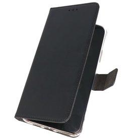 Wallet Cases Hoesje voor Samsung Galaxy A01 Zwart