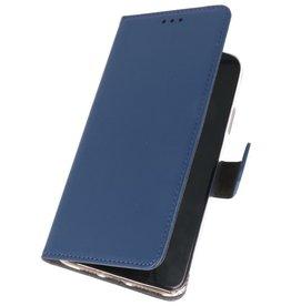 Wallet Cases Hoesje voor Samsung Galaxy A01 Navy