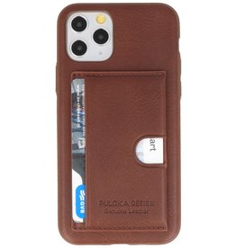 Hardcase Case for iPhone 11 Pro Brown