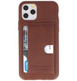 Hardcase Hoesje voor iPhone 11 Pro Bruin