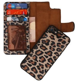 Leopard 2 in 1 Leather Book Type Case iPhone 8 / iPhone SE 2020