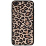 Leopard Leather Back Cover iPhone 8 Plus / iPhone 7 Plus