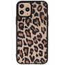 Rückseite aus Leopardenleder iPhone 11 Pro