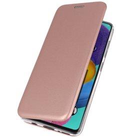 Schlanke Folio Hülle für Samsung Galaxy A01 Pink