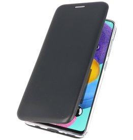 Schlanke Folio Hülle für Samsung Galaxy A71 Schwarz