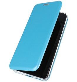 Schlanke Folio Hülle für Samsung Galaxy S20 Blau