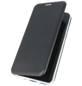 Schlanke Folio Hülle für Samsung Galaxy S20 Plus Schwarz