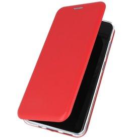 Schlanke Folio Hülle für Samsung Galaxy S20 Plus Rot