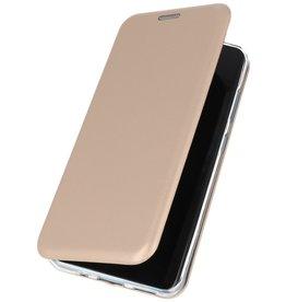 Schlanke Folio Hülle für Samsung Galaxy S20 Plus Gold
