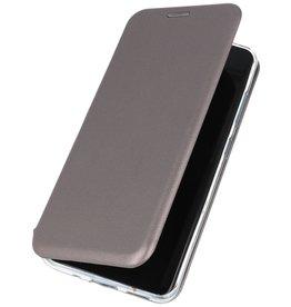 Schlanke Folio Hülle für Samsung Galaxy S20 Plus Grau
