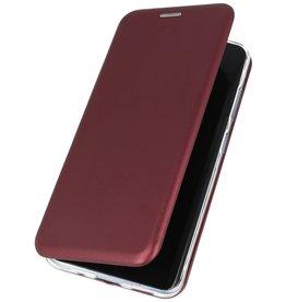 Schlanke Folio Hülle für Samsung Galaxy S20 Plus Bordeaux Rot