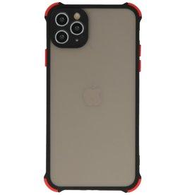 Schokbestendig Kleurcombinatie Hard Case iPhone 11 Pro Zwart