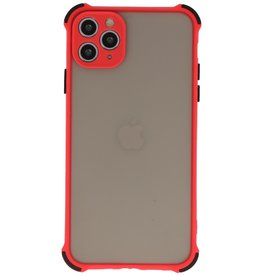 Stoßfeste Farbkombination Hard Case iPhone 11 Pro Rot
