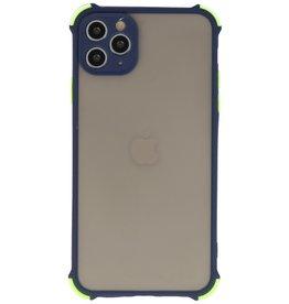 Schokbestendig Kleurcombinatie Hard Case iPhone 11 Pro Max Blauw