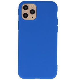 Premium Color TPU Hülle für iPhone 11 Pro Blue
