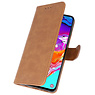 Bookstyle Wallet Cases Hoesje voor Samsung Galaxy A41 Bruin