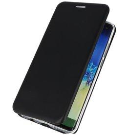 Schlanke Folio Hülle für Samsung Galaxy A21 Schwarz