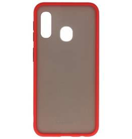 Color combination Hard Case for Galaxy A11 Red