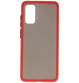 Kleurcombinatie Hard Case voor Galaxy A41 Rood