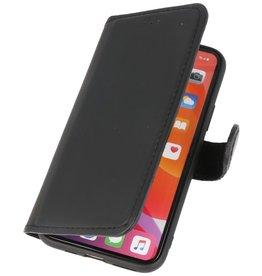 MF Handmade Leather Bookstyle Case iPhone 11 Pro Max Black