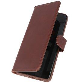 Rico Vitello Echt Leder Hoesje Samsung Galaxy 20 Plus Mocca