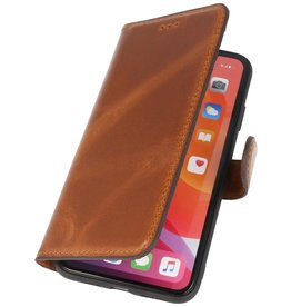 MF Handmade Leather Bookstyle Case iPhone X - Xs Brown