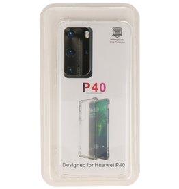 Schokbestendig TPU hoesje Huawei P40 Transparant
