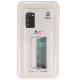 Shockproof TPU case for Samsung Galaxy A41 Transparent