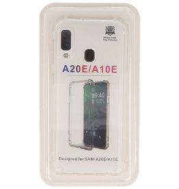 Shockproof TPU case for Samsung Galaxy A20e Transparent