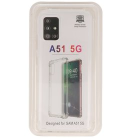Shockproof TPU case for Samsung Galaxy A51 5G Transparent