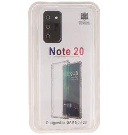 Shockproof TPU case for Samsung Galaxy Note 20 Transparent
