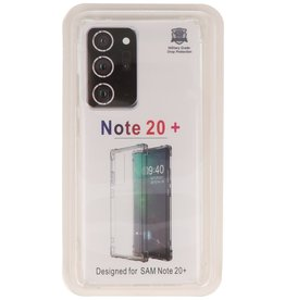 Shockproof TPU case for Samsung Galaxy Note 20 Ultra Transparent
