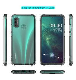 Shockproof TPU case for Huawei P Smart 2020 Transparent