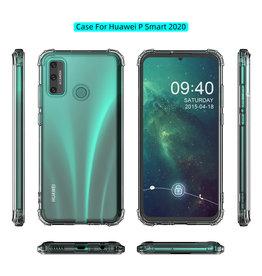 Stoßfeste TPU-Hülle für Huawei P Smart 2020 Transparent