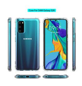 Schokbestendig transparant TPU hoesje voor Galaxy S20